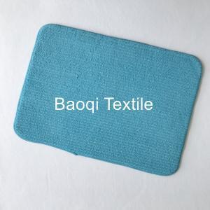 China Microfiber memory foam bath mat,dry water microfiber bath mat ,washable mats ,microfiber floor mat wholesale