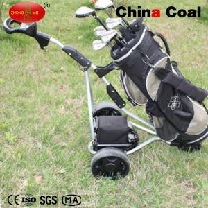 China Foldable Electric remote control hand push 3wheels golf bag trolley YM150-B wholesale