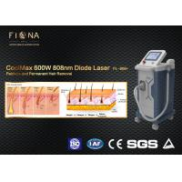 600w 808nm Diode Laser Hair Removal Machine Pain Free For All Skin Types