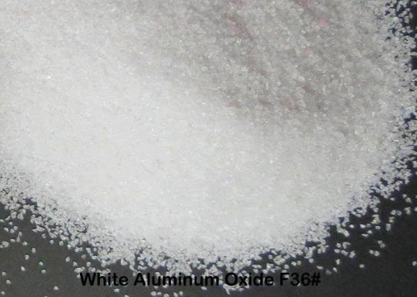 Quality 99% AL2O3Fused Aluminum Oxide , White Corundum F12 - F220 High Purity AluminaFor Bonded Abrasives for sale