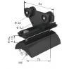 China Plastic C-Track Cable Festoon System Neoprene Bumper For Cranes wholesale