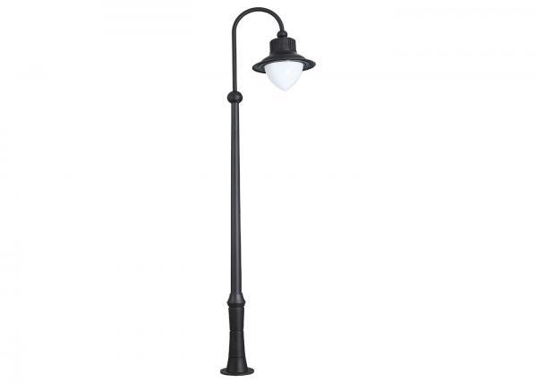 Parking lot light poles images for Outside pole light fixtures
