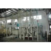 China Double - Paddle Mixer Micro - Grinder Animal Feed Production Line With Drip Type HKJ45 wholesale