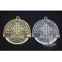 Buy cheap 2D Diecasting Alloy Material, 5k Marathion Racing Sports Mertal Award Medals No Neck Ribbon from wholesalers