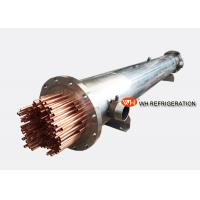 China Marine Refrigeration Shell and Tube Heat Exchanger , Water Cooled Evaporator wholesale