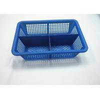 Quality Sundries Classification Office Colored Plastic Baskets , Plastic Overlay Box Egg for sale