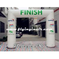 China 4m*5m White Inflatable Arch, Cheap Inflatable Finish Line for Sports Arch wholesale