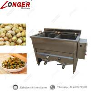 China Green Beans Frying Machine Automatic Green Beans Fryer Equipment Commercial Green Beans Fryer Machine Green Beans Frying wholesale