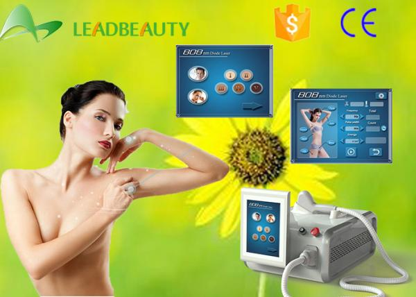 Quality High Quality Strong Power Portable diode laser hair removal machine 808nm for sale