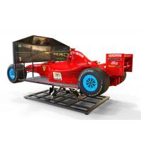 China F1 Driving 4D Virtual Reality Racing Car Easy Operate With Electric System wholesale