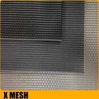 China Superior black powder coated Invisible metal window screen for Soundproof on sale