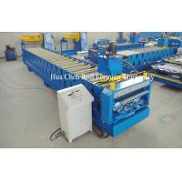 China High Speed 18 Row Double Layer Roll Forming Machine 380V 50Hz 3 Phase wholesale