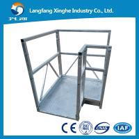 China ZLP630  right angle type suspended platform for high rise builidng work to india wholesale