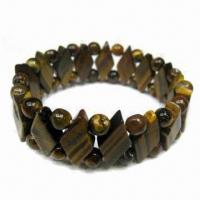 China Natural/tiger eye stone bracelet, OEM orders are welcome wholesale