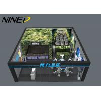 China Multiplayer Shooting Vr Space Standing Platform Vr Zone 9D Virtual Reality Vr Room Fighting Theme Park Equipment wholesale