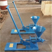 China 8L/Min Adjustable Manual Cement Grouting Pump With Hopper wholesale