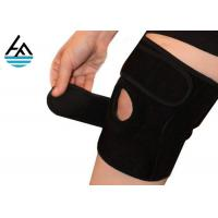 China Unisex Powerlifting Knee Sleeves , Knee Compression Sleeve Running With Holes wholesale