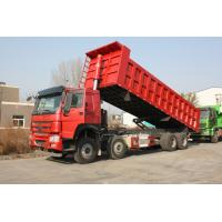 8×4 371 Horse Power Sinotruk Dump Truck With Volume 20-30 Tons Cargo Box