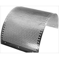 China stainless steel / aluminum Perforated Metal Plate mesh for filter wholesale