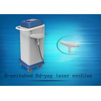 China 1064nm / 532nm Q-swiched ND YAG Laser Tattoo Removal Machine And Skin Whitening Equipment wholesale