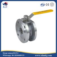 Buy cheap ANSI-150 Stainless steel clamp type ball valve with ISO5211 mounting pad from wholesalers