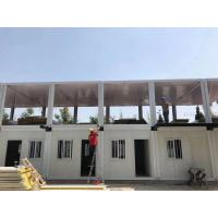 China Heatproof 20ft Shipping Container Cabin , Easy To Install 2 Bedroom Container House on sale