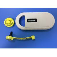 China Electronic Animal RFID Ear Tag For Cattle / Cow , ICAR Certificate wholesale