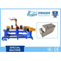 China Air Cabinet Robotic Spot Welding Machine With Wire Feeder / Start Control Panel on sale
