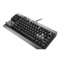 Quality High End Slim Blue Led Mechanical Gaming Keyboard Humanized Design for sale