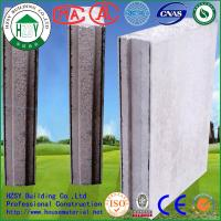 China Prefab Insulated Wall Panels 38dB-46dB , Durable Exterior Concrete Wall Panels wholesale
