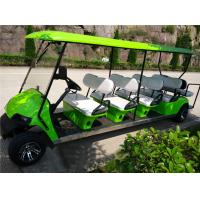 China Club car 10 seater gasoline engine golf carts wholesale
