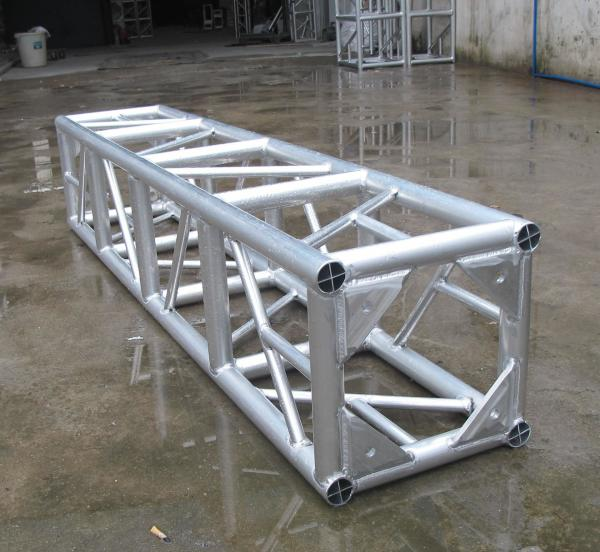 Quality Stage Fixed 6061-T6 Aluminum Spigot Truss , Lightweight Exhibition Truss System for sale