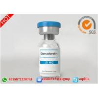 China Human Growth Hormone Somatropin , Human Growth Steroids Lyophilized Powder Gonadorelin wholesale