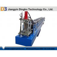 China 13 Rollers Stations Guide Rails Shutter Door Roll Forming Machine With Panasonic PLC Control on sale