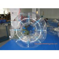 China 1.8M TPU Inflatable Bumper Ball , Body Zorb Ball With 3 Years Warranty wholesale