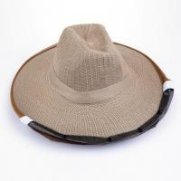 China Cowboy Style Brown Color Bee Hats for Beekeepers of Free Size wholesale