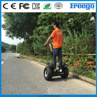 Quality Two Wheel Self Balancing Scooter Lithium Battery Brushless With 21inch Tire for sale