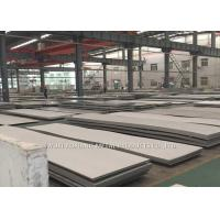 China Hairline Finish Hot Rolled Stainless Steel Sheet 430 With PE Film Cover wholesale