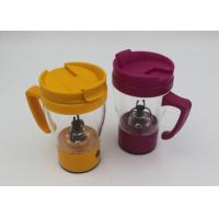 China Self Stirring Digital Plastic Coffee Cup / Self Stirring Mug , Run by 2*AAA batteries wholesale