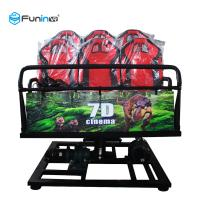 China Dual Projection 7D Movie Theater , Dynamic 5d 9d 12d Cinema With 8 9 12 Seats wholesale
