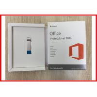 Buy cheap Microsoft Office 2016 Professional Plus Open License COA License 1 Pc DVD USB from wholesalers