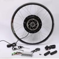 China 48v 1500w Speed 50-60 Km/H Hub Motor Kit , Electric Bike Kit With Battery Weight 11.5Kg on sale