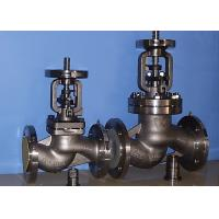 China BB-BG-OS&Y Bellow Globe Valve Gear Pneumatic DIN3356 BW  Hasteloy Out Blowing Safe Stem wholesale