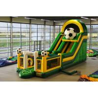 China CREEZ Long Inflatable Soft Bouncer , Childrens Bouncy Castle Easy To Clean on sale