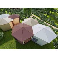 China Brightsome Modern Prefab Houses Size Customized Furnished Modular Homes wholesale