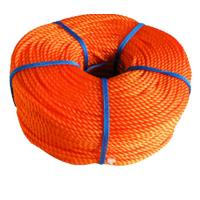 China 16mm PE PP Commercial Fishing Rope / Braided Polypropylene Rope wholesale
