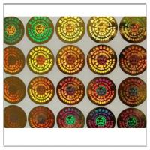 China High Quality Customized Self Adhesive Anti-fake Label 3D Hologram Sticke,Customized Anti-fake Metal PET Hologram Sticker wholesale