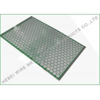 China Professional Hookstrip Screen For Flo Mud Cleaner 2000 1050 X 695mm Screen Size wholesale
