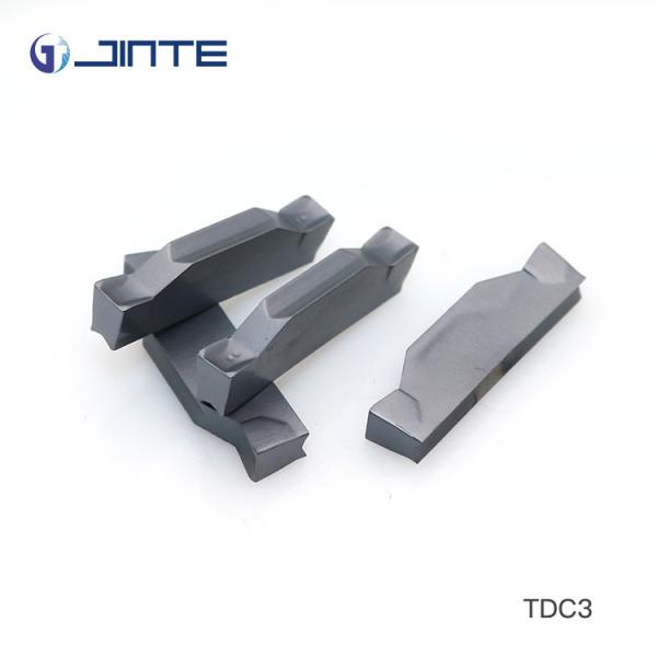Quality TP822 Grade Parting And Grooving Inserts , TDC3 Light Cutting Parting Tool Inserts for sale