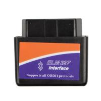 China ELM327 Interface Bluetooth ELM327 Code Reader OBD2 Scan Tool For Android V2.1 wholesale